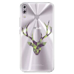 Plastové pouzdro iSaprio Zelený Jelínek na mobil Asus ZenFone 5 ZE620KL