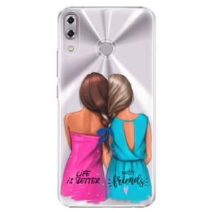 Plastové pouzdro iSaprio Best Friends na mobil Asus ZenFone 5 ZE620KL