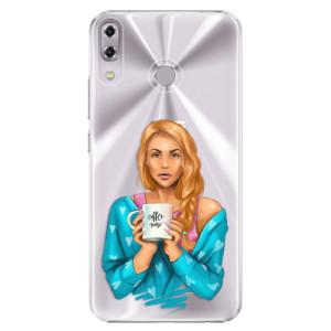 Plastové pouzdro iSaprio Coffee Now Zrzka na mobil Asus ZenFone 5 ZE620KL