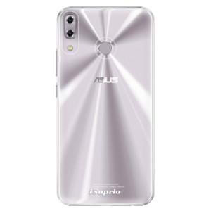 Plastové pouzdro iSaprio 4Pure mléčné bez potisku na mobil Asus ZenFone 5 ZE620KL