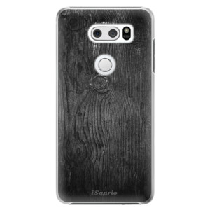 Plastové pouzdro iSaprio Black Wood 13 na mobil LG V30