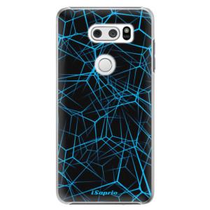 Plastové pouzdro iSaprio Abstract Outlines 12 na mobil LG V30
