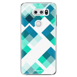 Plastové pouzdro iSaprio Abstract Squares 11 na mobil LG V30
