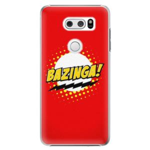 Plastové pouzdro iSaprio Bazinga 01 na mobil LG V30