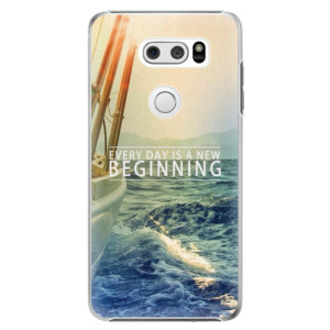 Plastové pouzdro iSaprio Beginning na mobil LG V30
