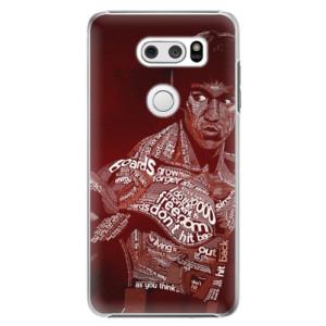 Plastové pouzdro iSaprio Bruce Lee na mobil LG V30