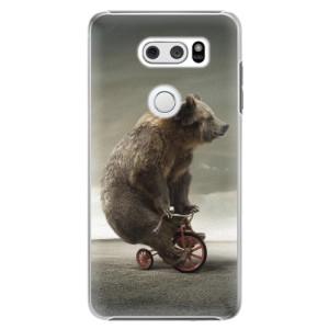 Plastové pouzdro iSaprio Medvěd 01 na mobil LG V30