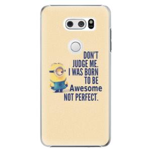 Plastové pouzdro iSaprio Be Awesome na mobil LG V30