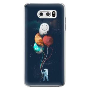 Plastové pouzdro iSaprio Balónky 02 na mobil LG V30