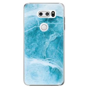 Plastové pouzdro iSaprio Blue Marble na mobil LG V30