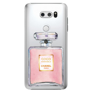 Plastové pouzdro iSaprio Chanel Rose na mobil LG V30