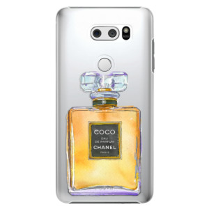 Plastové pouzdro iSaprio Chanel Gold na mobil LG V30