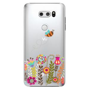 Plastové pouzdro iSaprio Včelka Pája 01 na mobil LG V30