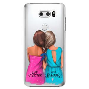 Plastové pouzdro iSaprio Best Friends na mobil LG V30