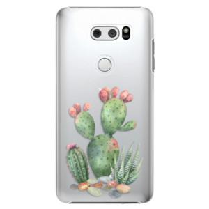 Plastové pouzdro iSaprio Kaktusy 01 na mobil LG V30
