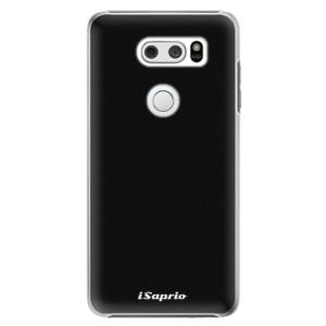 Plastové pouzdro iSaprio 4Pure černé na mobil LG V30