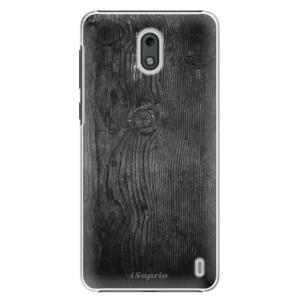 Plastové pouzdro iSaprio Black Wood 13 na mobil Nokia 2