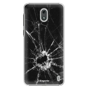 Plastové pouzdro iSaprio Broken Glass 10 na mobil Nokia 2