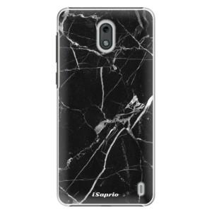 Plastové pouzdro iSaprio Black Marble 18 na mobil Nokia 2