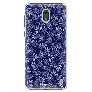 Plastové pouzdro iSaprio Blue Leaves 05 na mobil Nokia 2