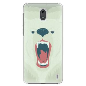 Plastové pouzdro iSaprio Naštvanej Medvěd na mobil Nokia 2
