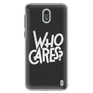 Plastové pouzdro iSaprio Who Cares na mobil Nokia 2