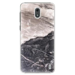 Plastové pouzdro iSaprio BW Mramor na mobil Nokia 2