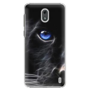 Plastové pouzdro iSaprio Black Puma na mobil Nokia 2