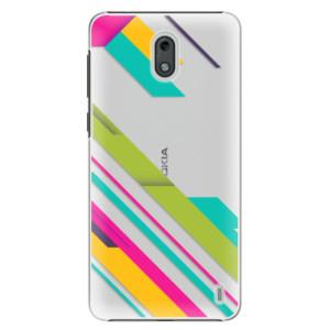 Plastové pouzdro iSaprio Barevné Pruhy 03 na mobil Nokia 2