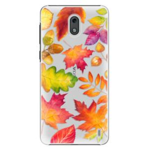 Plastové pouzdro iSaprio Podzimní Lístečky na mobil Nokia 2