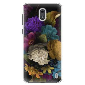 Plastové pouzdro iSaprio Temné Květy na mobil Nokia 2