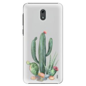 Plastové pouzdro iSaprio Kaktusy 02 na mobil Nokia 2