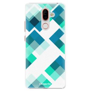 Plastové pouzdro iSaprio Abstract Squares 11 na mobil Nokia 7 Plus