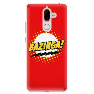Plastové pouzdro iSaprio Bazinga 01 na mobil Nokia 7 Plus