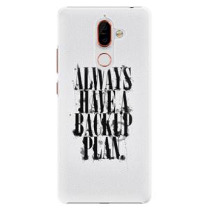 Plastové pouzdro iSaprio Backup Plan na mobil Nokia 7 Plus