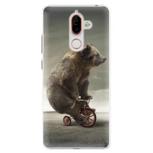 Plastové pouzdro iSaprio Medvěd 01 na mobil Nokia 7 Plus