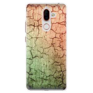 Plastové pouzdro iSaprio Rozpraskaná Zeď 01 na mobil Nokia 7 Plus