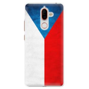 Plastové pouzdro iSaprio Česká Vlajka na mobil Nokia 7 Plus
