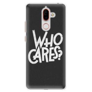 Plastové pouzdro iSaprio Who Cares na mobil Nokia 7 Plus