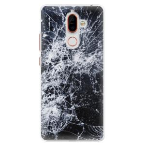 Plastové pouzdro iSaprio Praskliny na mobil Nokia 7 Plus