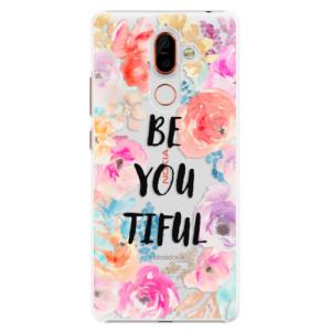 Plastové pouzdro iSaprio BeYouTiful na mobil Nokia 7 Plus
