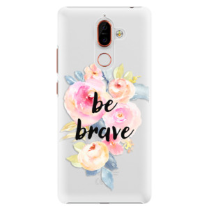 Plastové pouzdro iSaprio Be Brave na mobil Nokia 7 Plus
