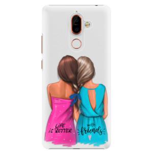Plastové pouzdro iSaprio Best Friends na mobil Nokia 7 Plus