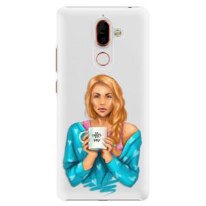 Plastové pouzdro iSaprio Coffee Now Zrzka na mobil Nokia 7 Plus