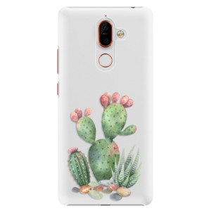 Plastové pouzdro iSaprio Kaktusy 01 na mobil Nokia 7 Plus