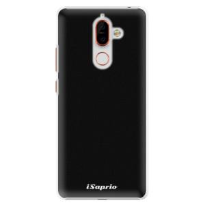 Plastové pouzdro iSaprio 4Pure černé na mobil Nokia 7 Plus