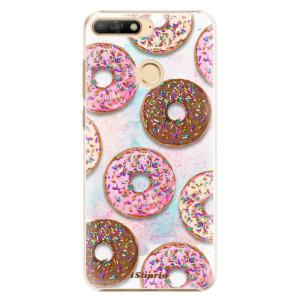 Plastové pouzdro iSaprio Donutky Všude 11 na mobil Huawei Y6 Prime 2018