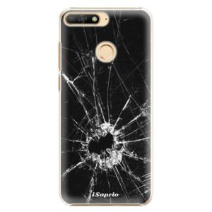 Plastové pouzdro iSaprio Broken Glass 10 na mobil Huawei Y6 Prime 2018