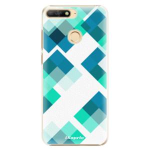 Plastové pouzdro iSaprio Abstract Squares 11 na mobil Huawei Y6 Prime 2018