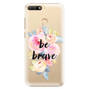 Plastové pouzdro iSaprio Be Brave na mobil Huawei Y6 Prime 2018